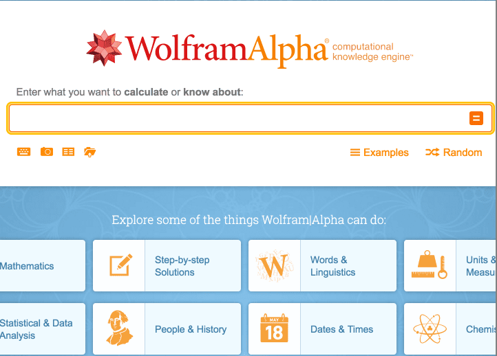 wolfram alpha the computational search engine Wolfram engine software engine  curated computable knowledge powering wolfram|alpha all  the wolfram data repository is built to be a.