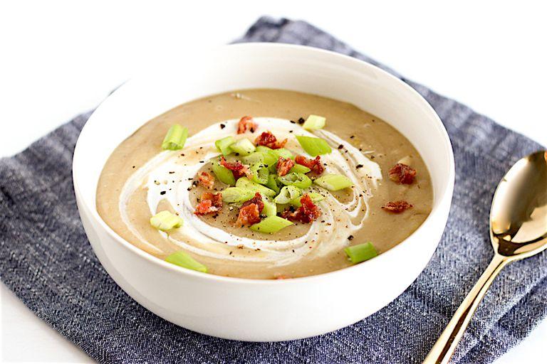 potato leed soup
