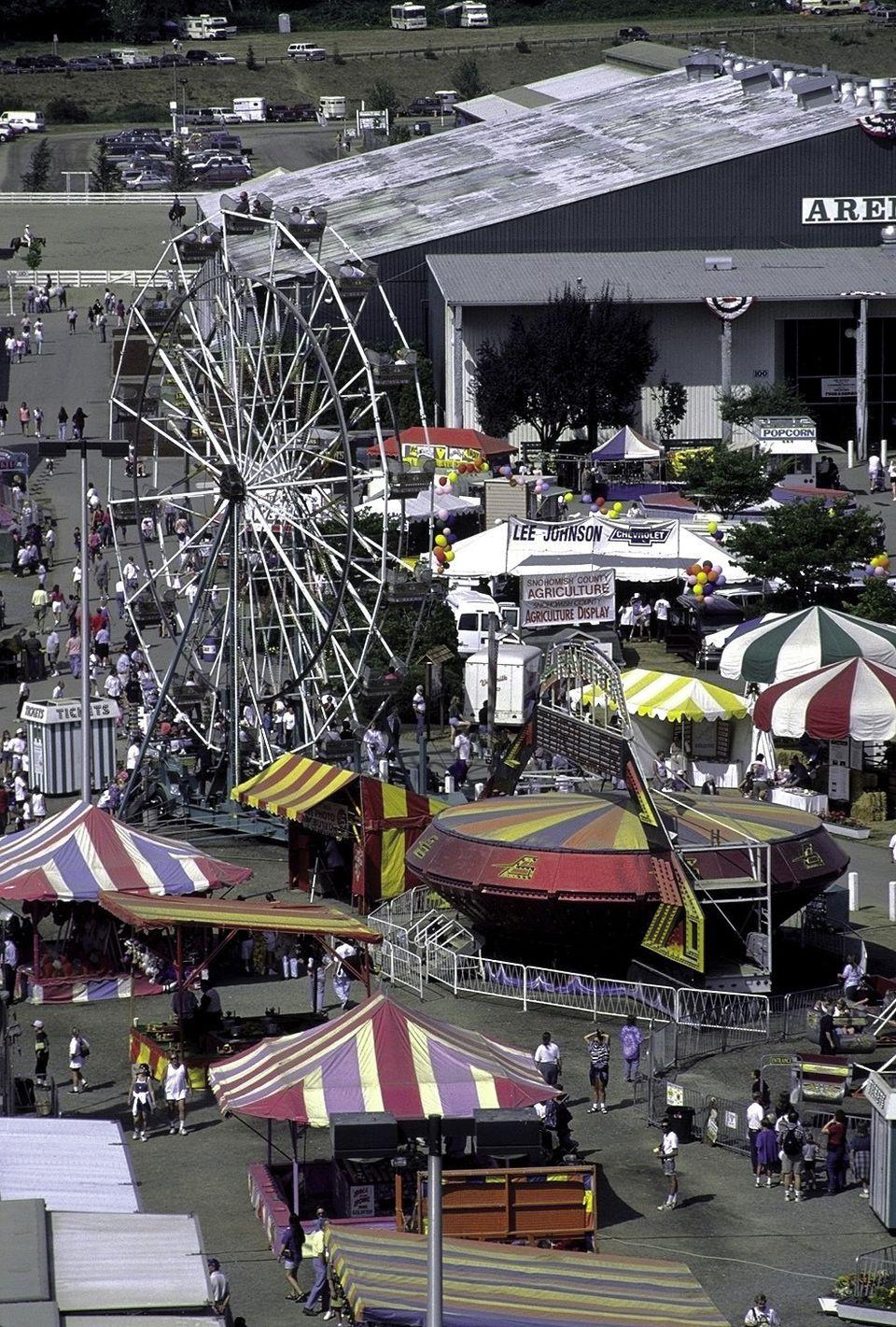 Evergreen State Fairgrounds in Monroe, Washington