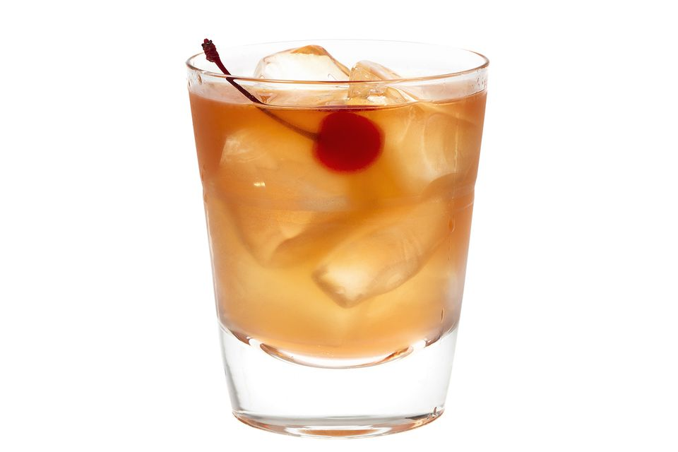 Ward Eight Cocktail on the rocks