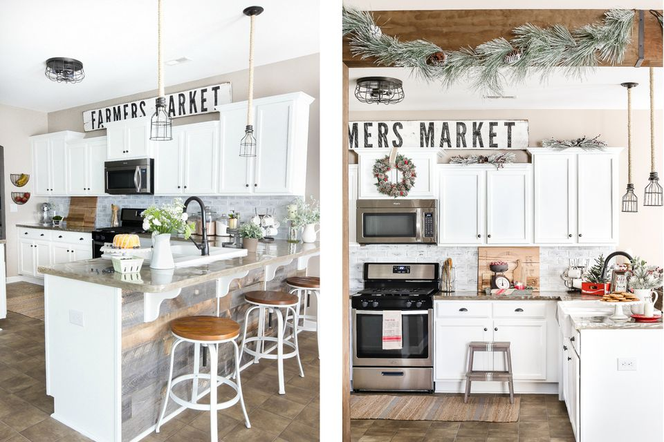 49 Gorgeous Modern Farmhouse Kitchens
