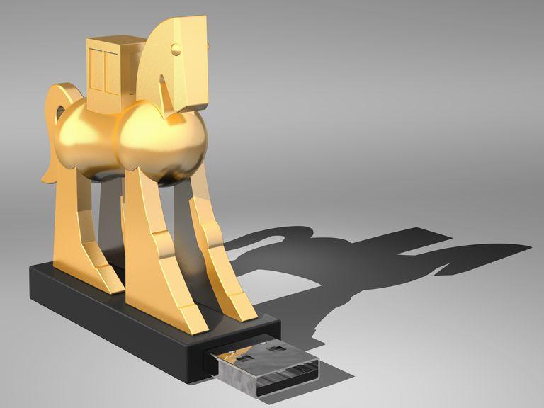 Computer Trojan, artwork