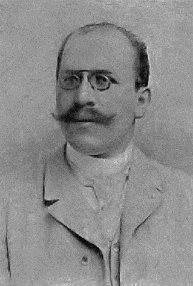 portrait of Hugo Munsterberg