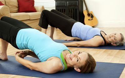 how to do catcow yoga stretch
