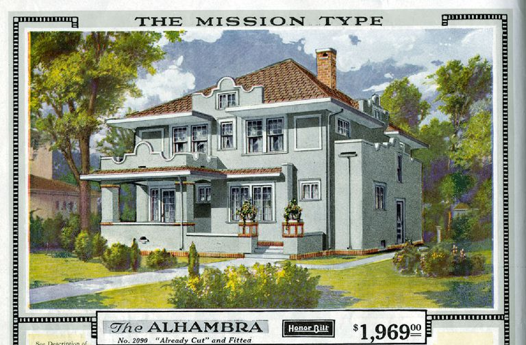 Is Your Foursquare House From a Catalog?