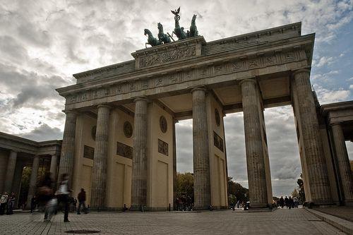 Brandenburg Gate, Berlin Pariser Platz