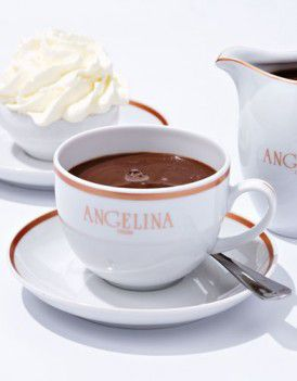 Angelina is a coveted spot for traditional hot chocolate in Paris.