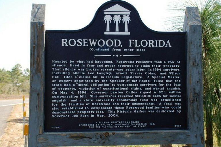 Rosewood Memorial