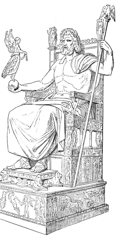Statue of Zeus by Phidias