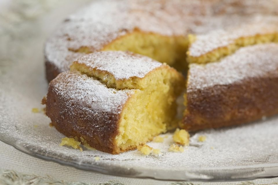 Lemon-Almond Cake