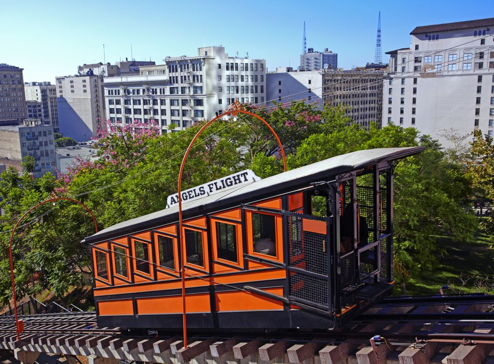 Angels Flight in Downtown Los Angeles