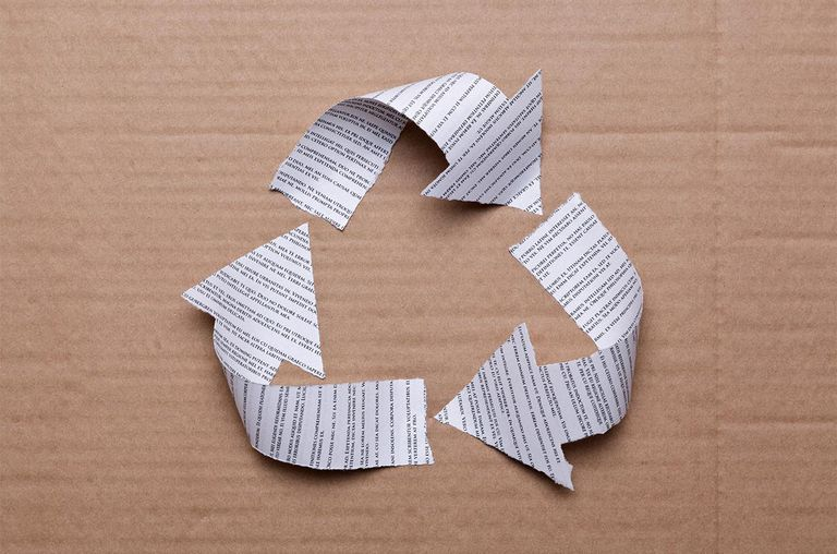The benefits of paper recycling for Waste paper things