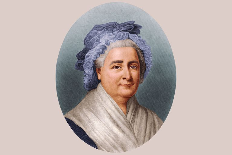 Picture of First Lady Martha Washington, wife of President George Washington Martha Washington