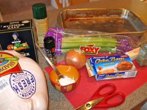 oven bag turkey ingredients
