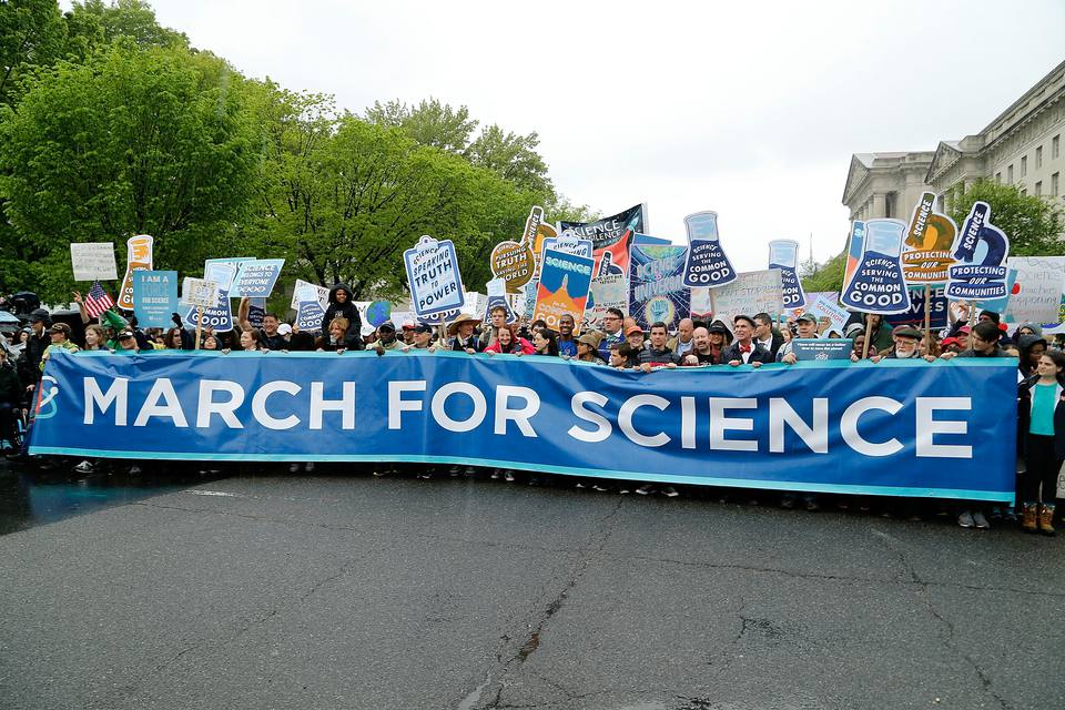 Earth Day March For Science Rally - Washington, DC