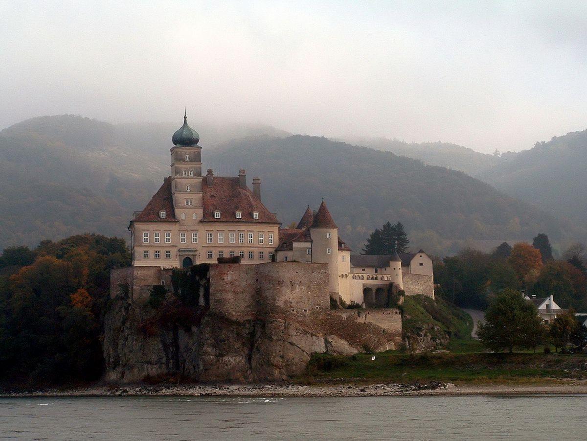 Wachau Valley Of The Danube River In Austria
