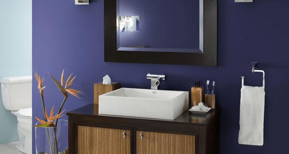 Color Ideas for a Small Bathroom