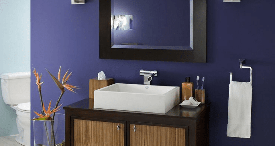 Paint color ideas for a small bathroom for Bathroom colors for small bathroom