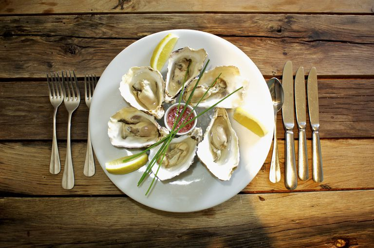 Oysters, Norfolk, England