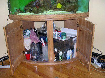 Aquarium Cabinet - Before