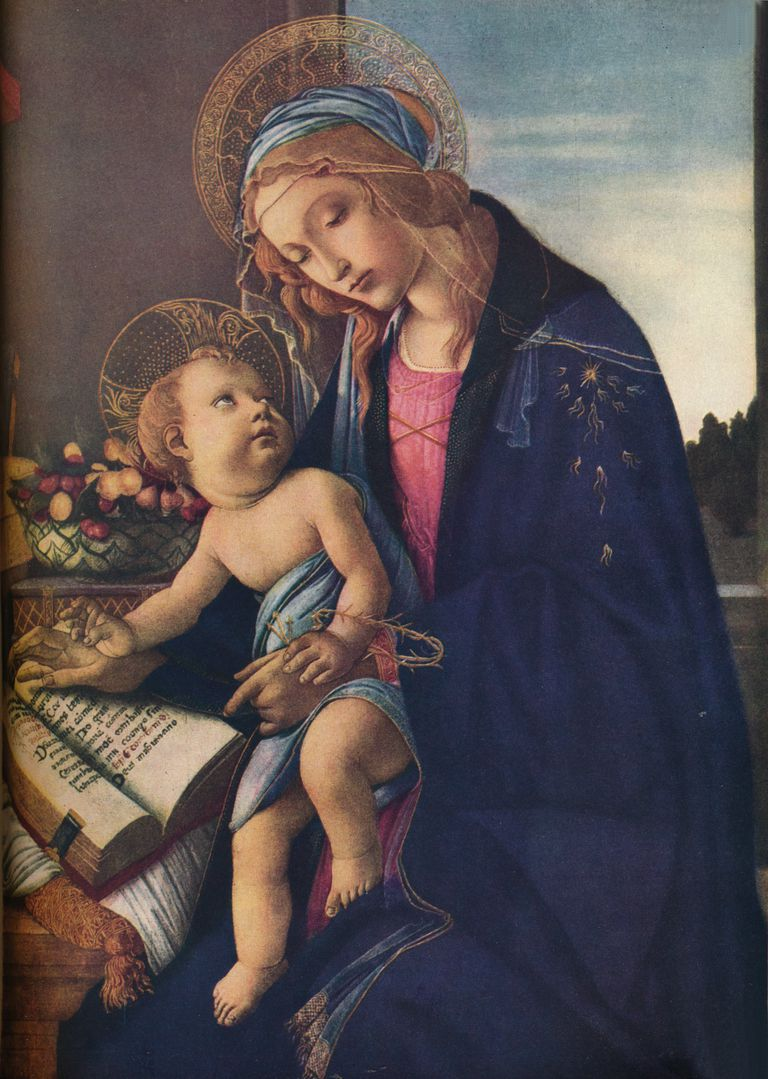 'The Virgin and Child', c1480, (1936)