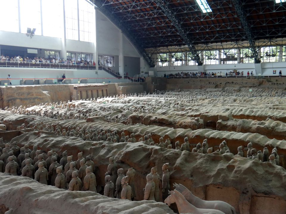 Army of Terracotta Warriors near Xi'an, China
