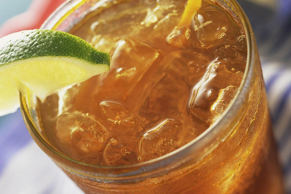 Popular Long Island Iced Tea Mixed Drink Recipe