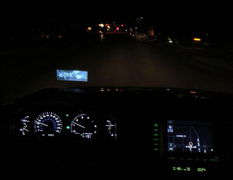 automotive night vision hud