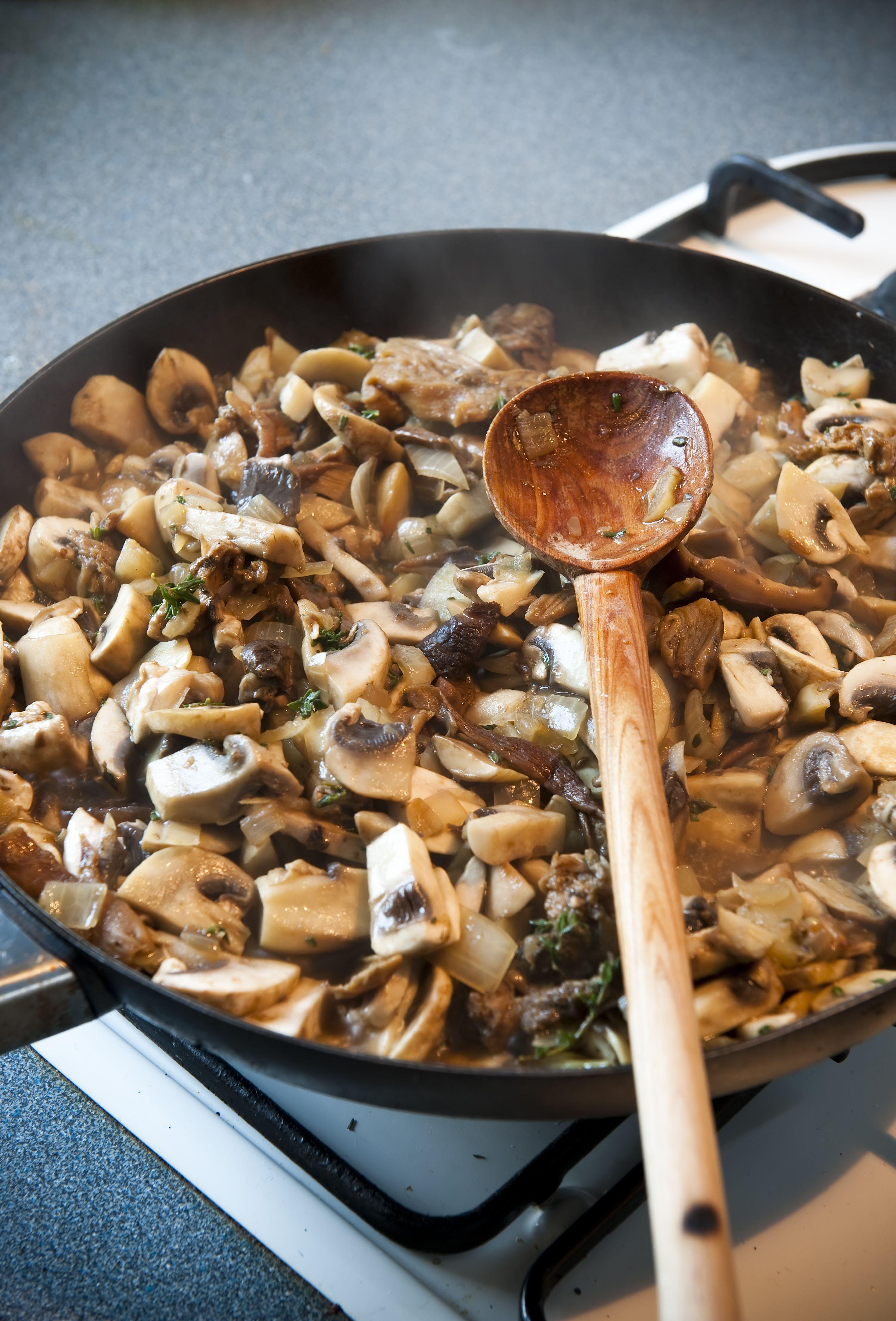 Quick Saut 233 Ed Wild Mushrooms Recipe