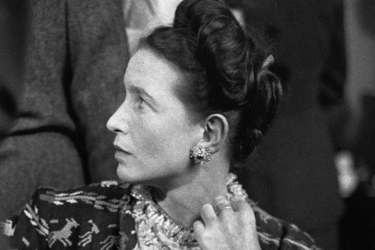 Simone de Beauvoir, 1947