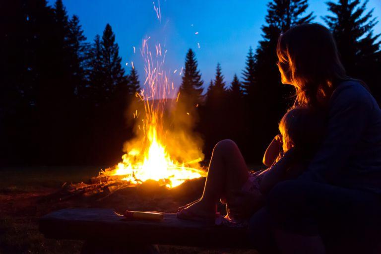 Conifer Campfire