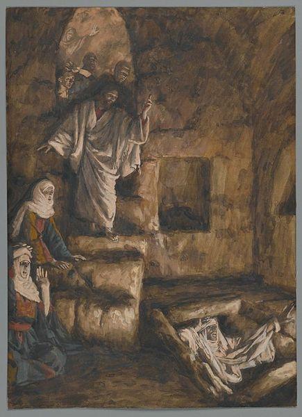 Lazarus Jesus Christ resurrect miracle