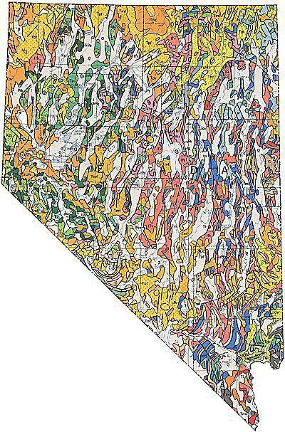 West thumb geologic maps