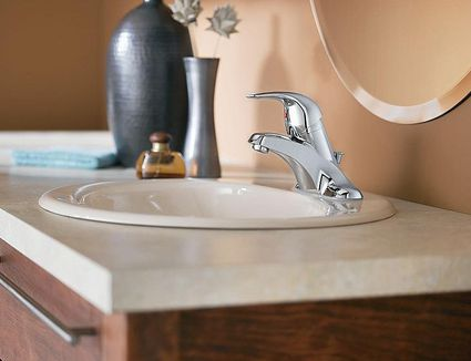 sink on top of vanity. Easily Install a Centerset Bathroom Faucet in New Vanity Vessel Sinks  Complete Guide Basics Pros and Cons