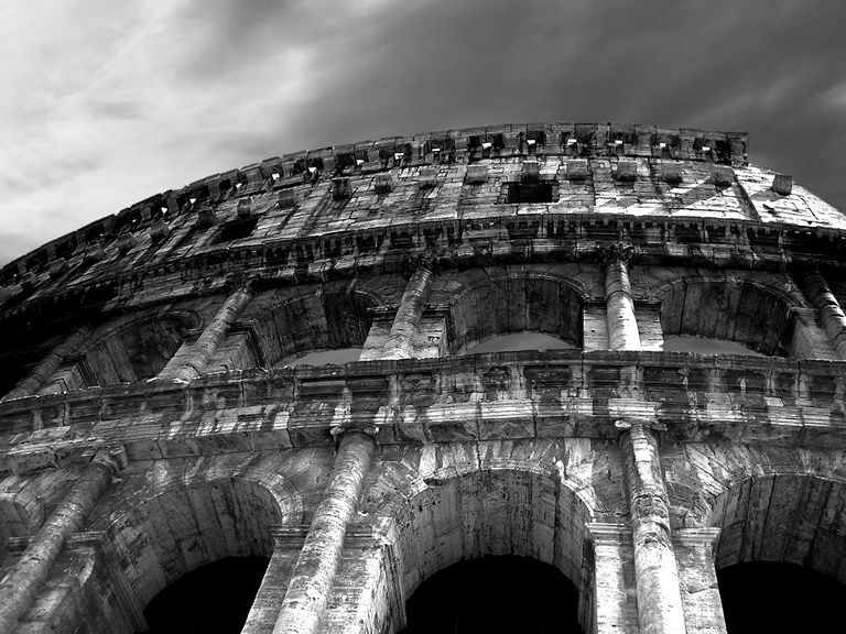 The Roman Colosseum, Rome, Italy