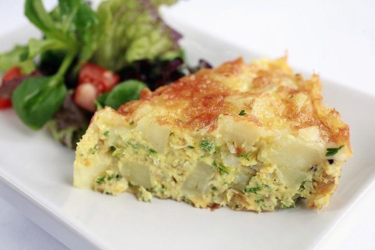 gluten-free vegetarian omelet