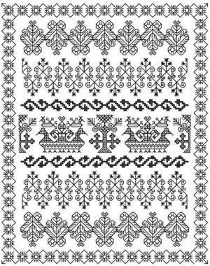 Blackwork Embroidery Definition U0026 Stitchersu0026#39; Resources