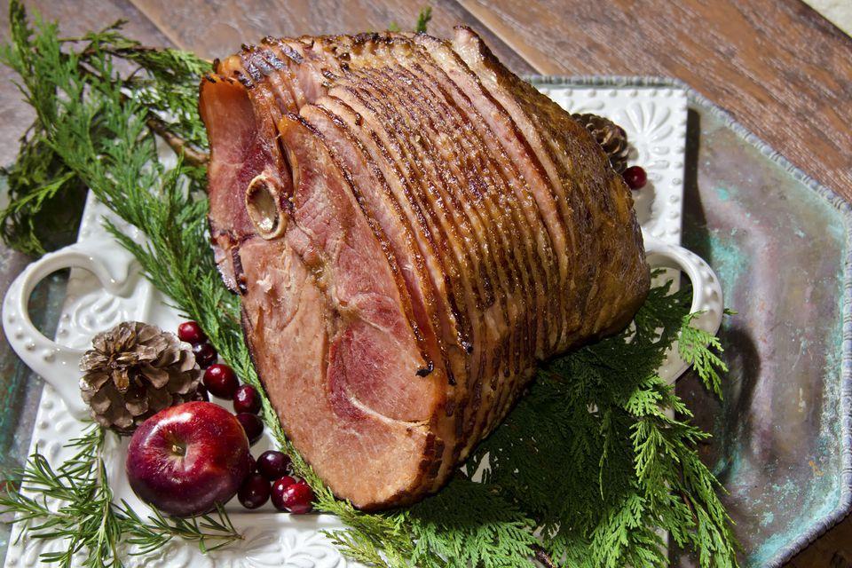 Beer Glazed Ham