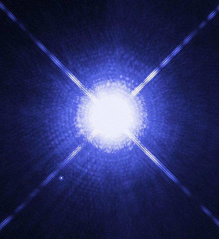 Sirius binary star system