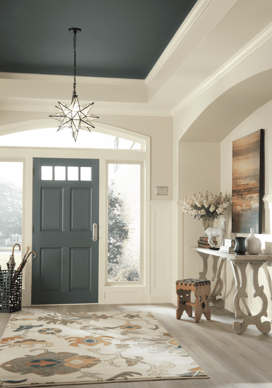 Living Room Design Games: Dramatic Paint Inspiration: Sherwin-Williams Nouveau