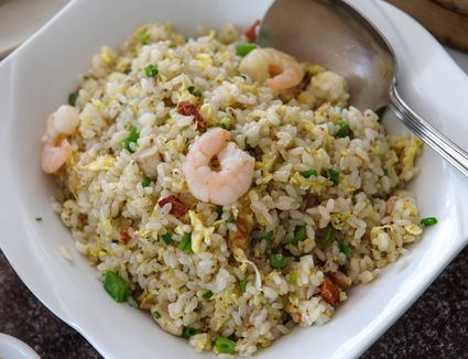 Fried rice recipe from leftovers traditional yangchow fried rice with roast pork ccuart Images