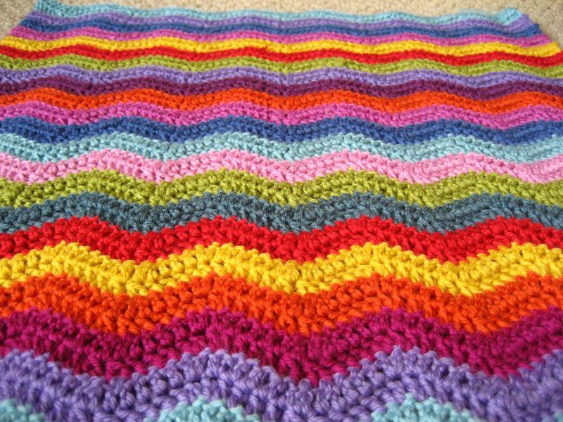 Neat Ripple Crochet Pattern