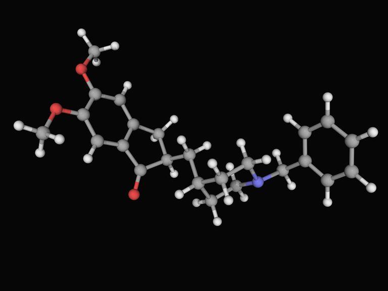 Donepezil Molecule- Treatment for Alzheimer's