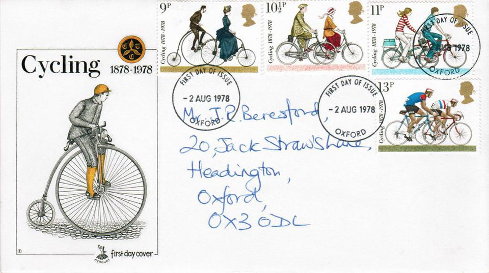 2-Aug-1978 UK First Day Cover