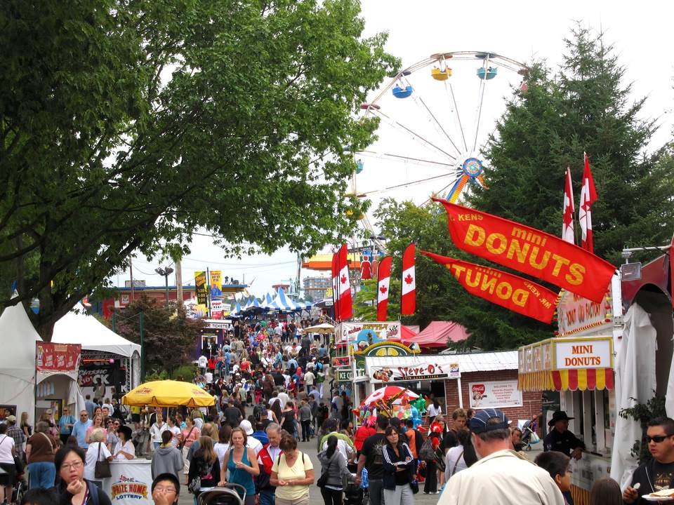 The Fair at the PNE in Vancouver, BC