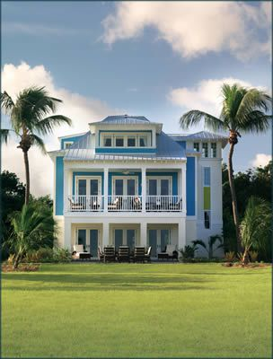 Picture of the exterior of the 2008 Dream Home, part of HGTV's Dream Home Sweepstakes.