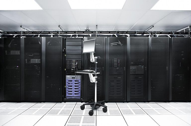 Server room, computer, technology,