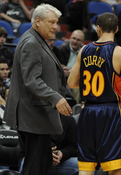 Don Nelson and Stephen Curry, Golden State Warriors