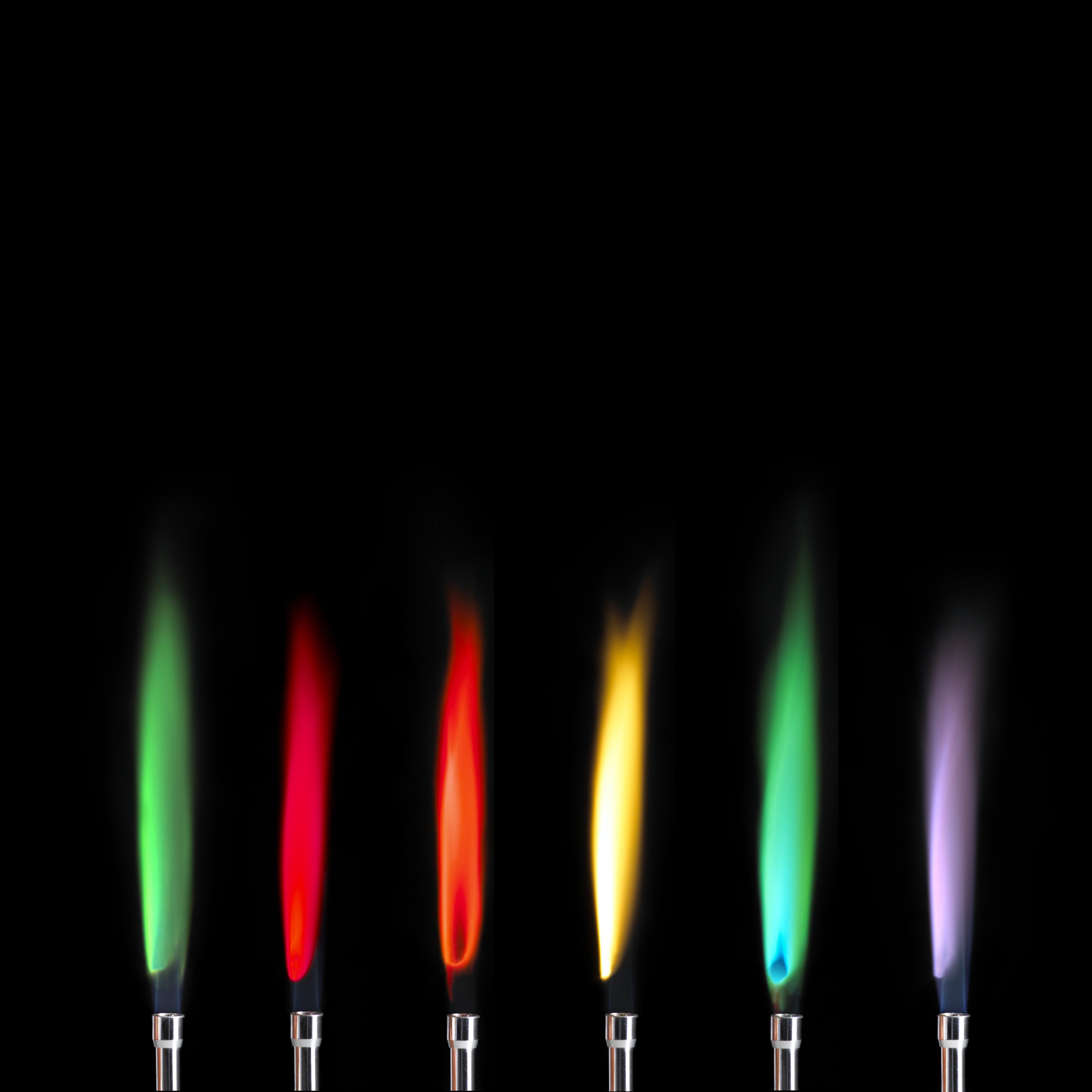 Make colored fire in every color of the rainbow colored fireworks rainbow chemistry demonstration nvjuhfo Choice Image
