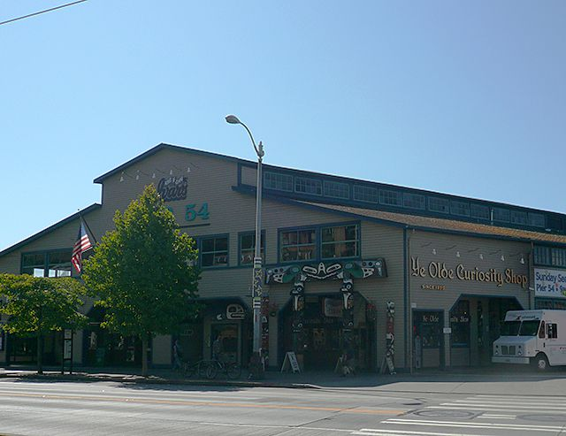 Ye Olde Curiosity Shop at Pier 54 on Seattle's Waterfront